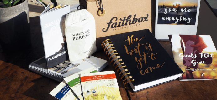 Faithbox Coupon: Get $10 Off!