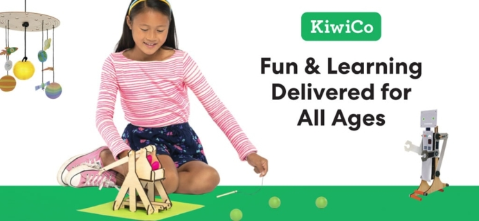KiwiCo Flash Sale: 40% Off First Box or up to Four FREE Months!