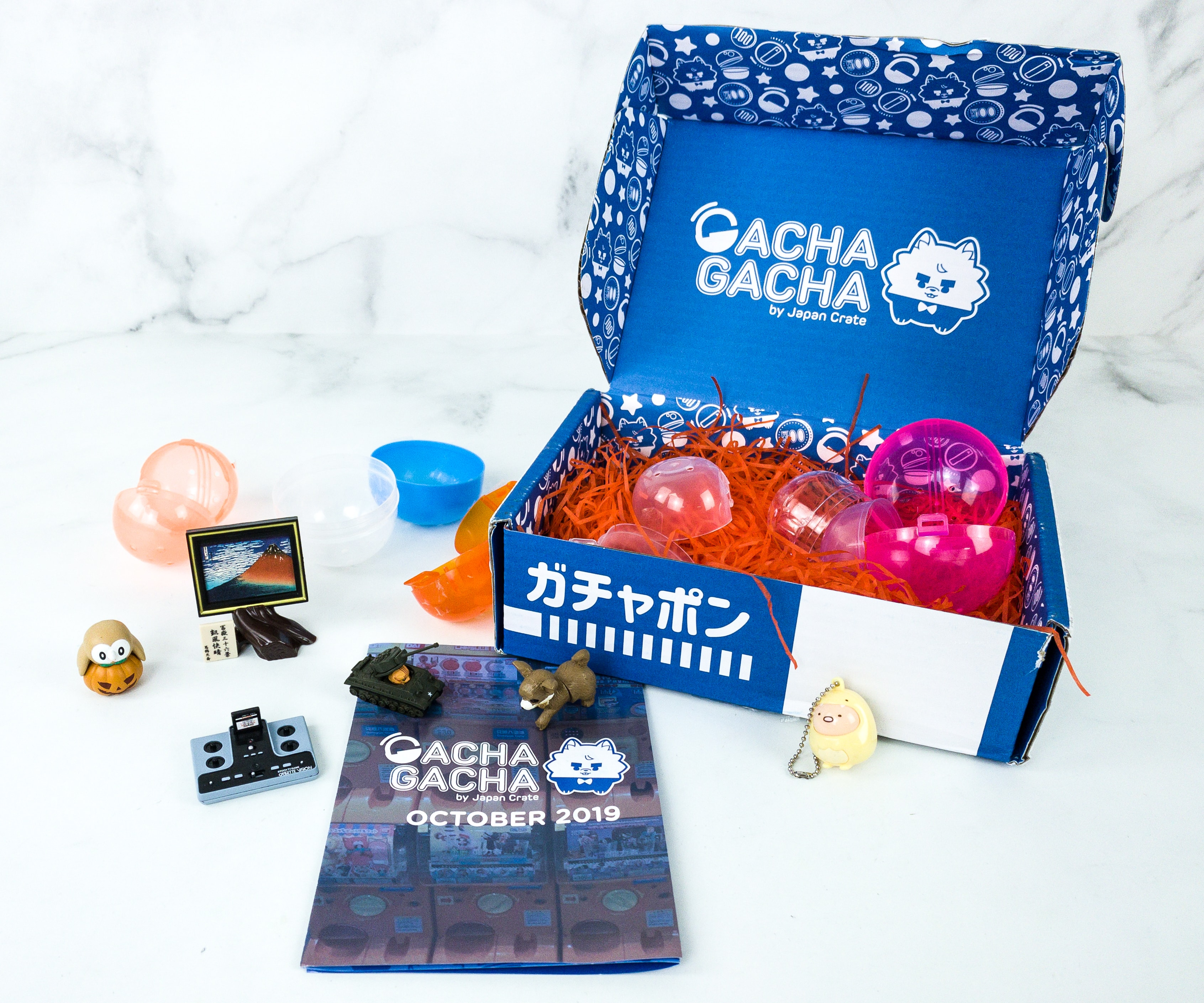 Gacha Gacha Crate October 2019 Subscription Box Review + Coupon