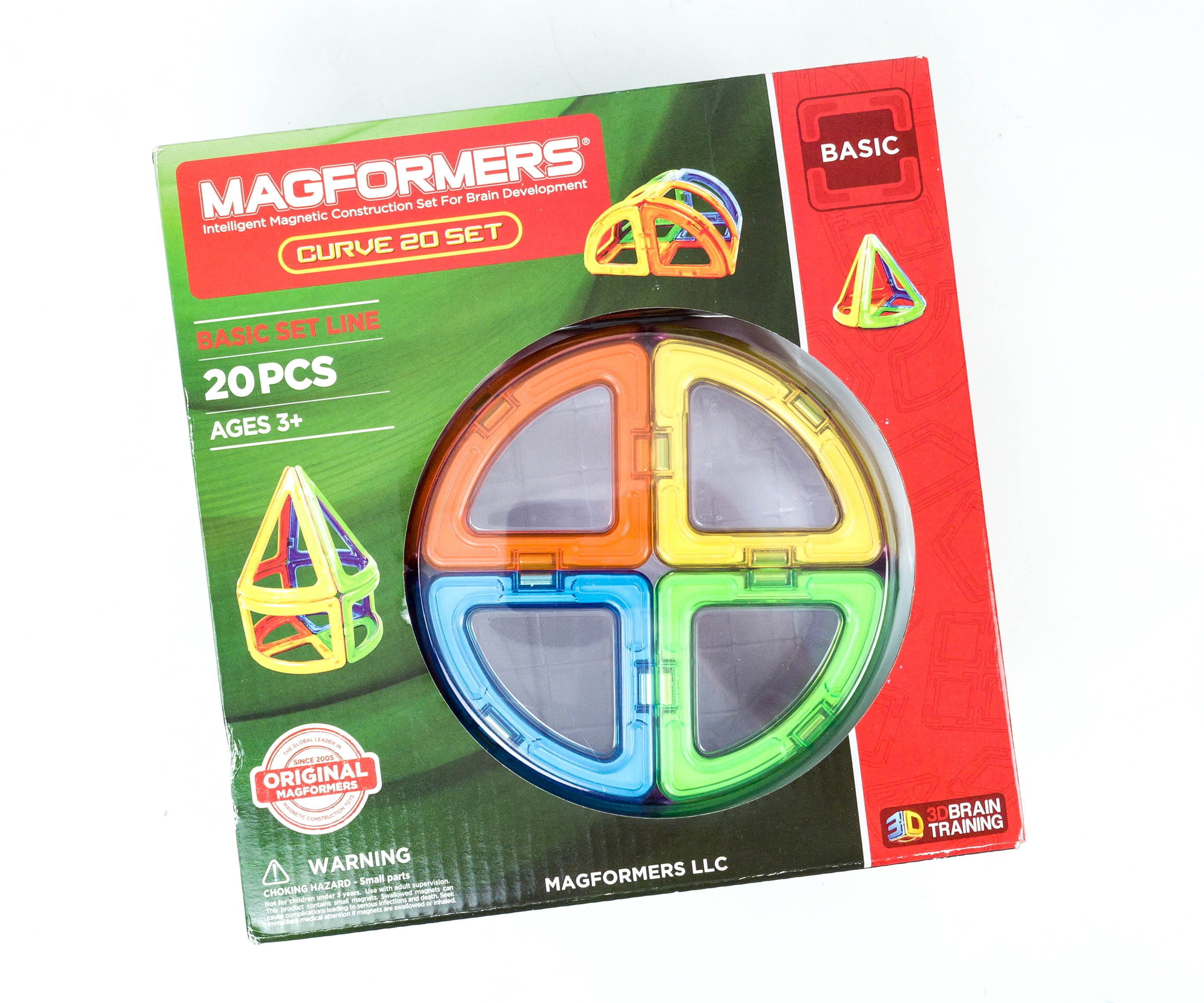 Amazon STEM Toy Club  Subscription Box Review – 3 to 4 Year Old MAGFORMERS CURVE Box