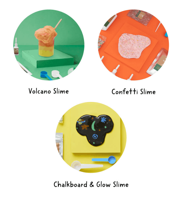 New KiwiCo Slime Packs Available Now!