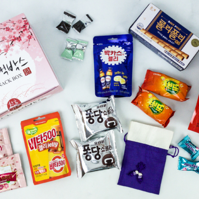 Korean Snack Box October 2019 Subscription Box Review + Coupon