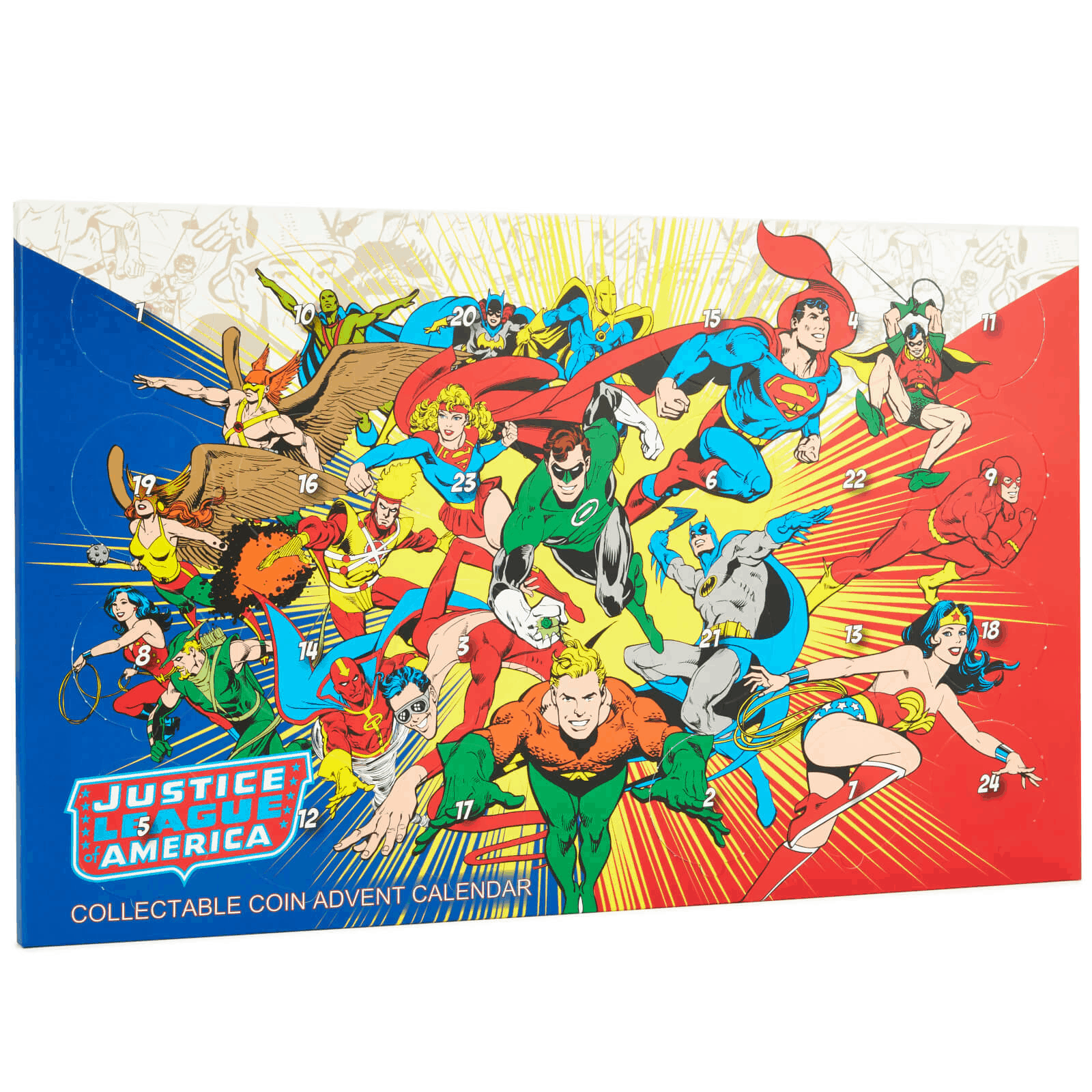 2019 DC Coin Advent Calendar Available Now For Preorder!