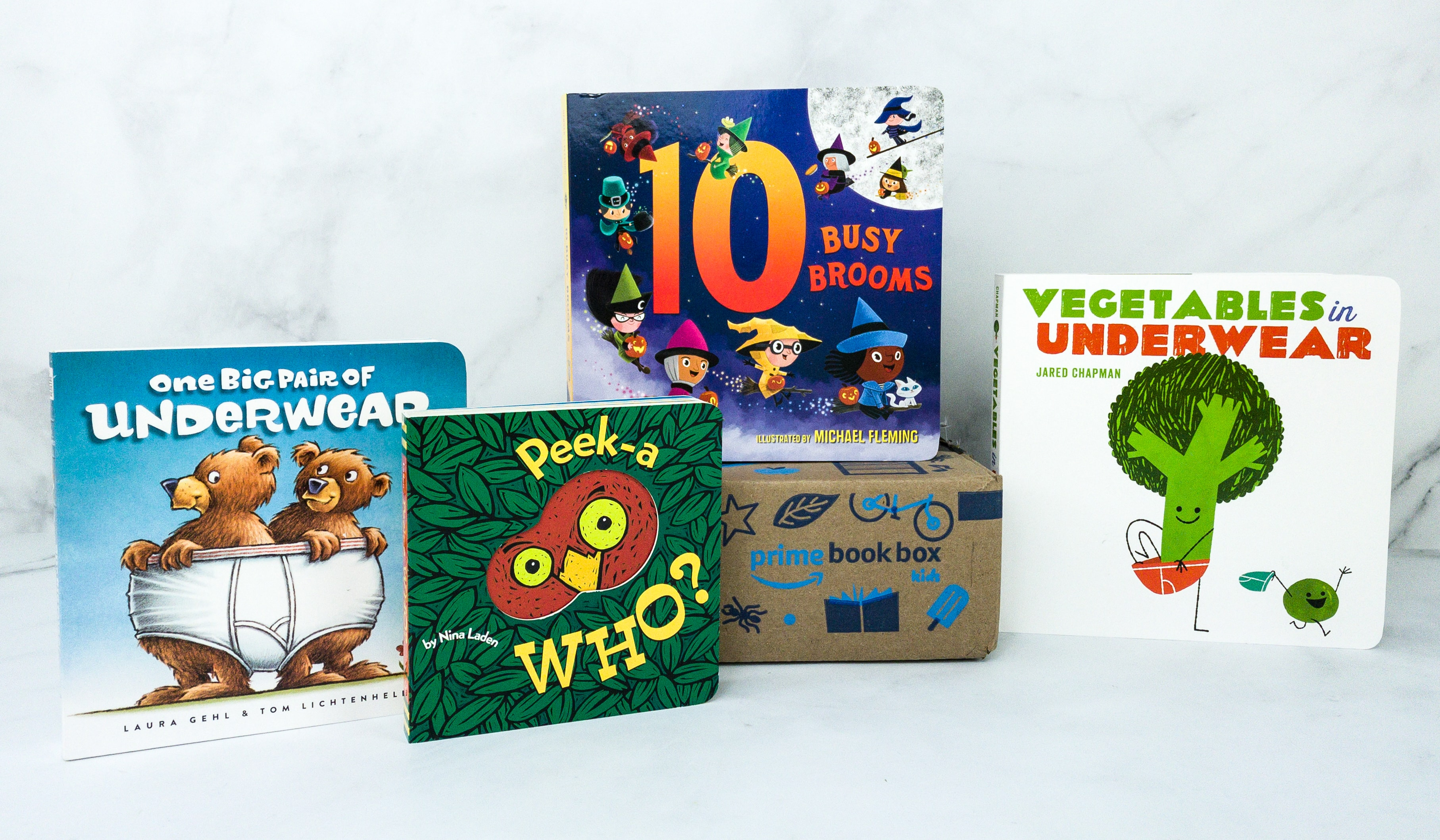 Amazon Prime Book Box Kids Review – AGE 3-5 October 2019