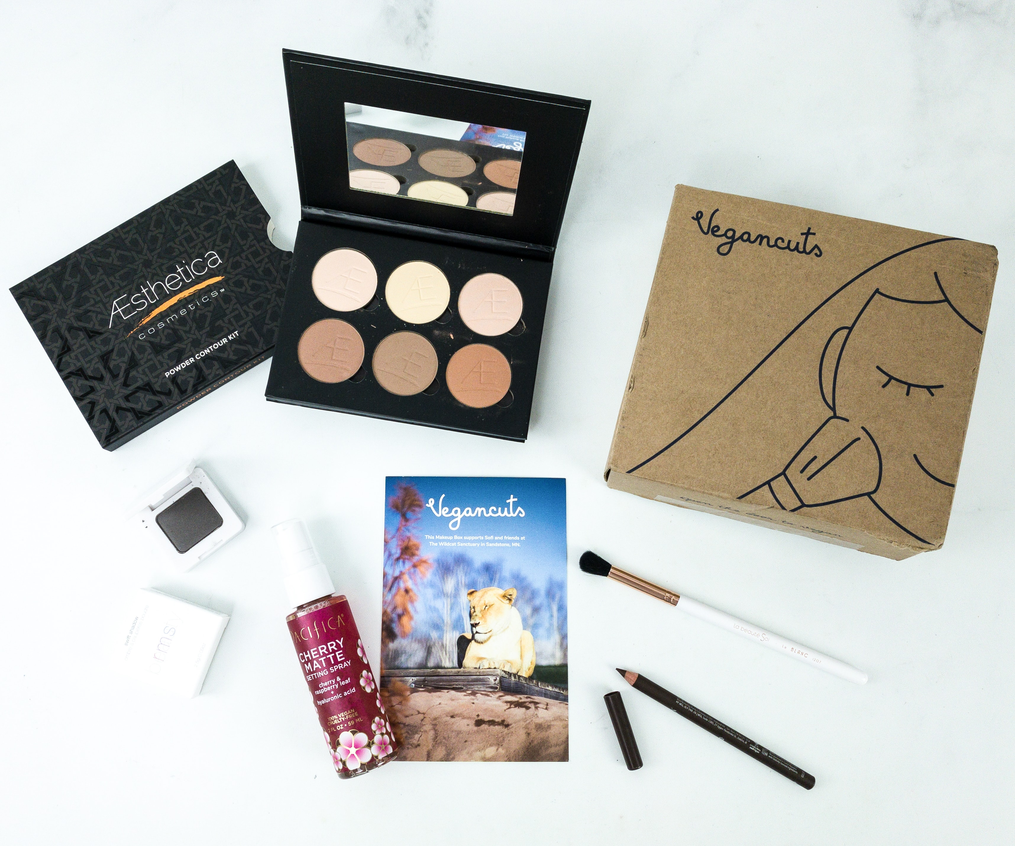 Vegan Cuts Makeup Box Fall 2019 Subscription Box Review
