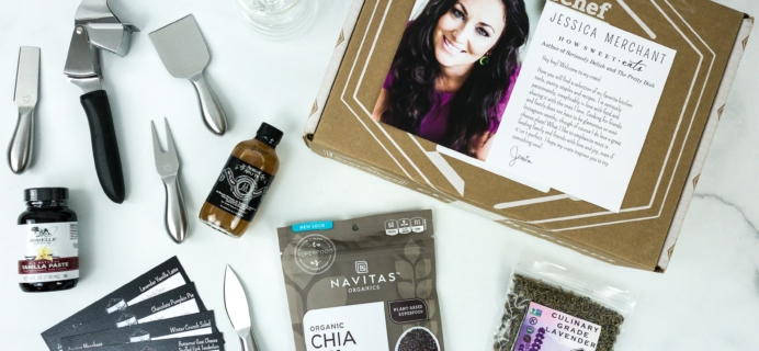 Crate Chef October 2019 Subscription Box Review + Coupon!