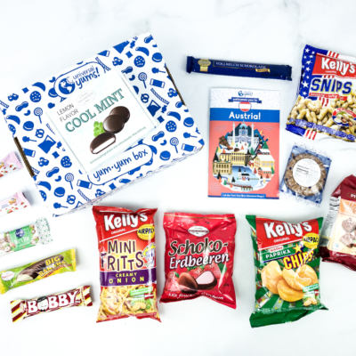 Universal Yums Subscription Box Review + Coupon – AUSTRIA