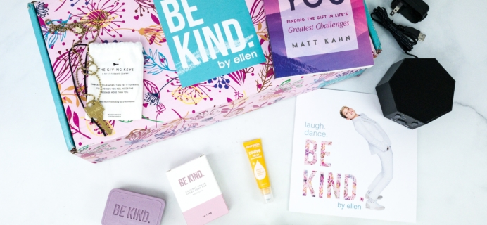 BE KIND by Ellen Box Fall 2019 Subscription Box Review