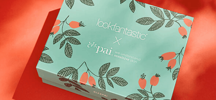 Look Fantastic x Pai Skincare Limited Edition Beauty Box Coming Soon!