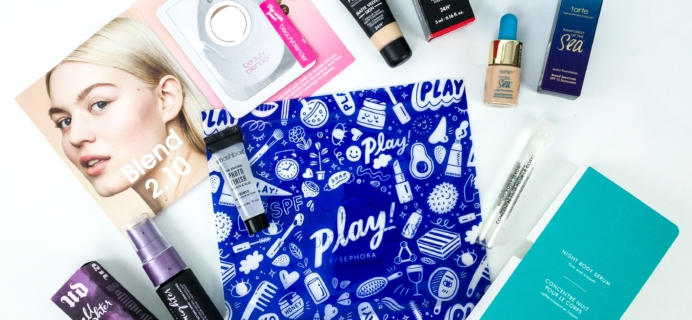 Play! by Sephora October 2019 Subscription Box Review