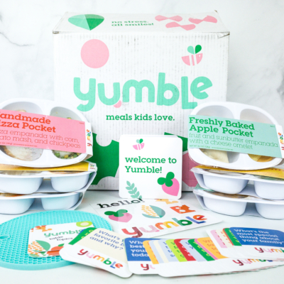 Yumble Kids October 2019 Subscription Box Review + Coupons!