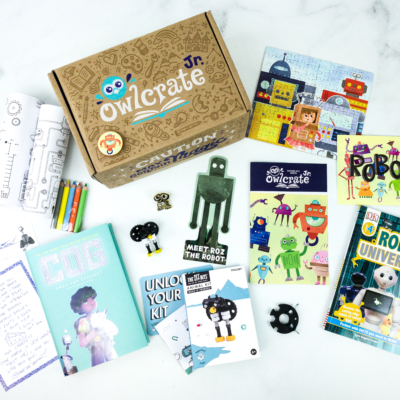 OwlCrate Jr. October 2019 Box Review & Coupon
