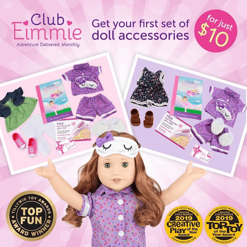 Club Eimmie Coupon: Get Your First Box For Just $10!