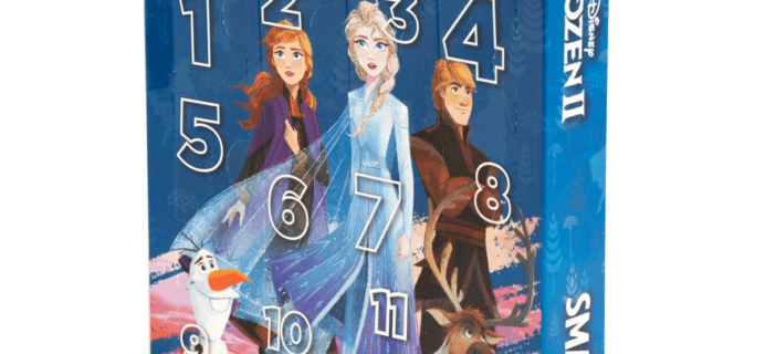 2019 Lip Smacker Frozen II Advent Calendar Available Now!
