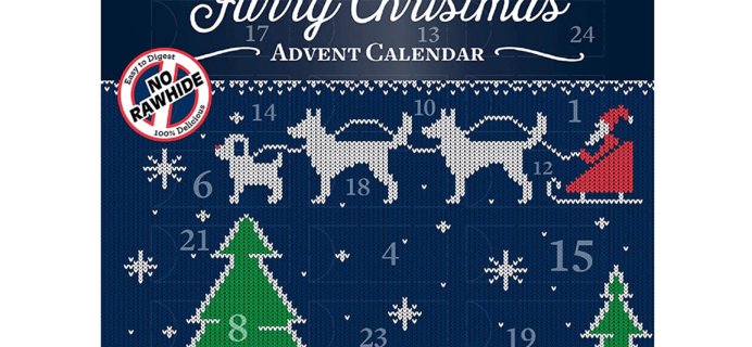 2019 DreamBone Furry Christmas Advent Calendar for Dogs Available Now!