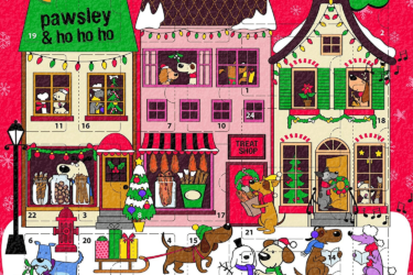 2019 GoodBoy Pawsley Meaty Treats Advent Calendar for Dogs Available Now!