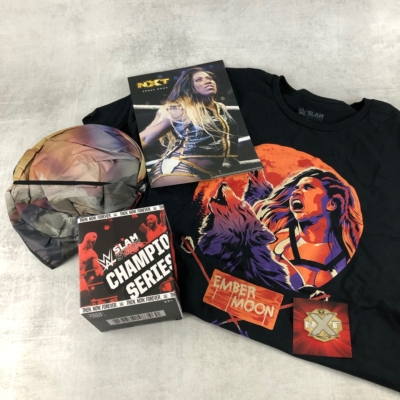 WWE Slam Crate July-August 2019 Subscription Box Review + Coupon
