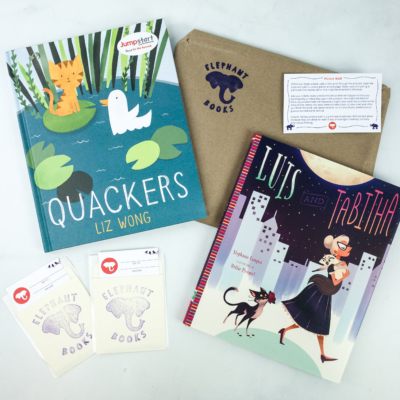 Elephant Books November 2019 Subscription Box Reviews – PICTURE BOOKS