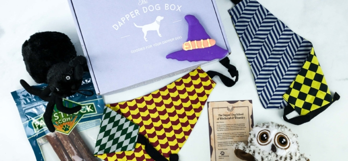 The Dapper Dog Box October 2019 Subscription Box Review + Coupon