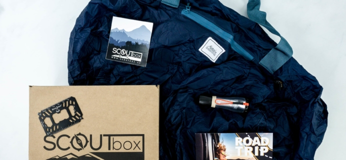 SCOUTbox October 2019 Subscription Box Review + Coupon