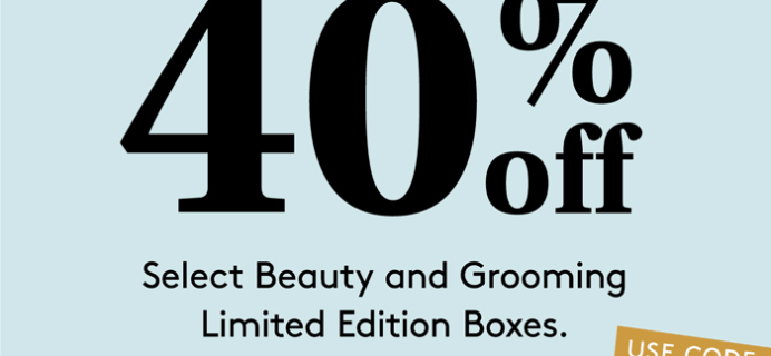 Birchbox Coupon: 40% Off on Limited Edition Boxes!