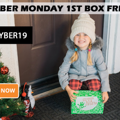 Green Kid Crafts Cyber Monday Sale: Get Your First Box FREE With 3+ Month Subscription!