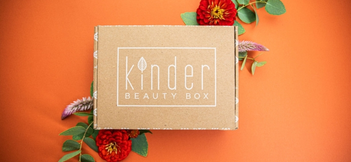 Kinder Beauty Box January 2020 FULL Spoilers + Coupon!