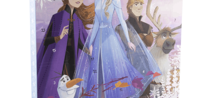 2019 IWOOT Disney Frozen 2 Advent Calendar Available Now!