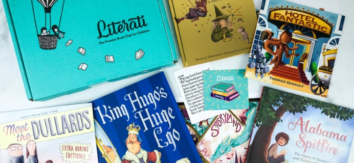 Literati Club Nova Box Review + Coupon – October 2019