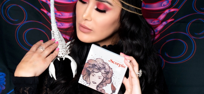 ShadowMe SCORPIO Bonus Palette Available Now + Coupon!