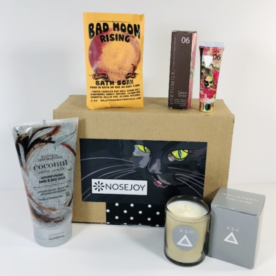 NOSEJOY October 2019 Subscription Box Review + Coupon!