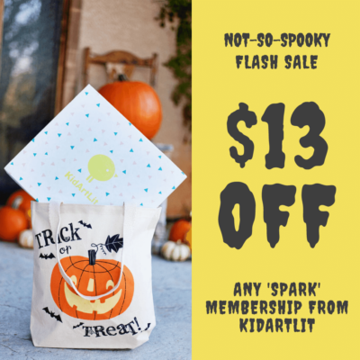 KidArtLit Halloween Flash Sale: Save $13!