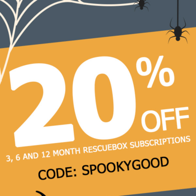 Rescue Box Halloween Coupon: Get 20% Off!