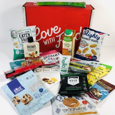 Love With Food October 2019 Deluxe Box Review + Coupon!