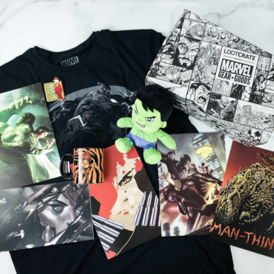 Marvel Gear + Goods July 2019 Subscription Box Review + Coupon! – BEAUTY AND THE BEASTS