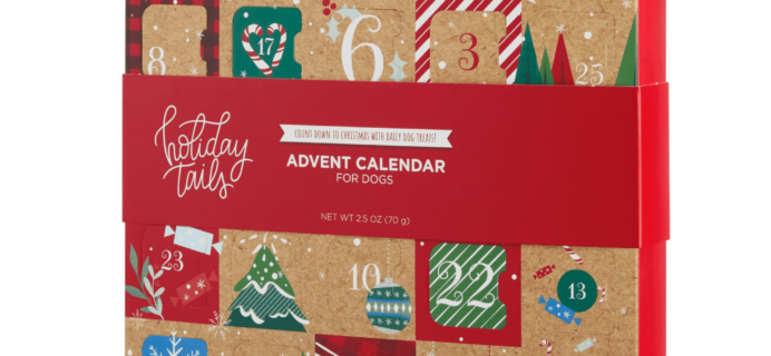 2019 Holiday Tails Dog Advent Calendar Available Now + Spoilers!