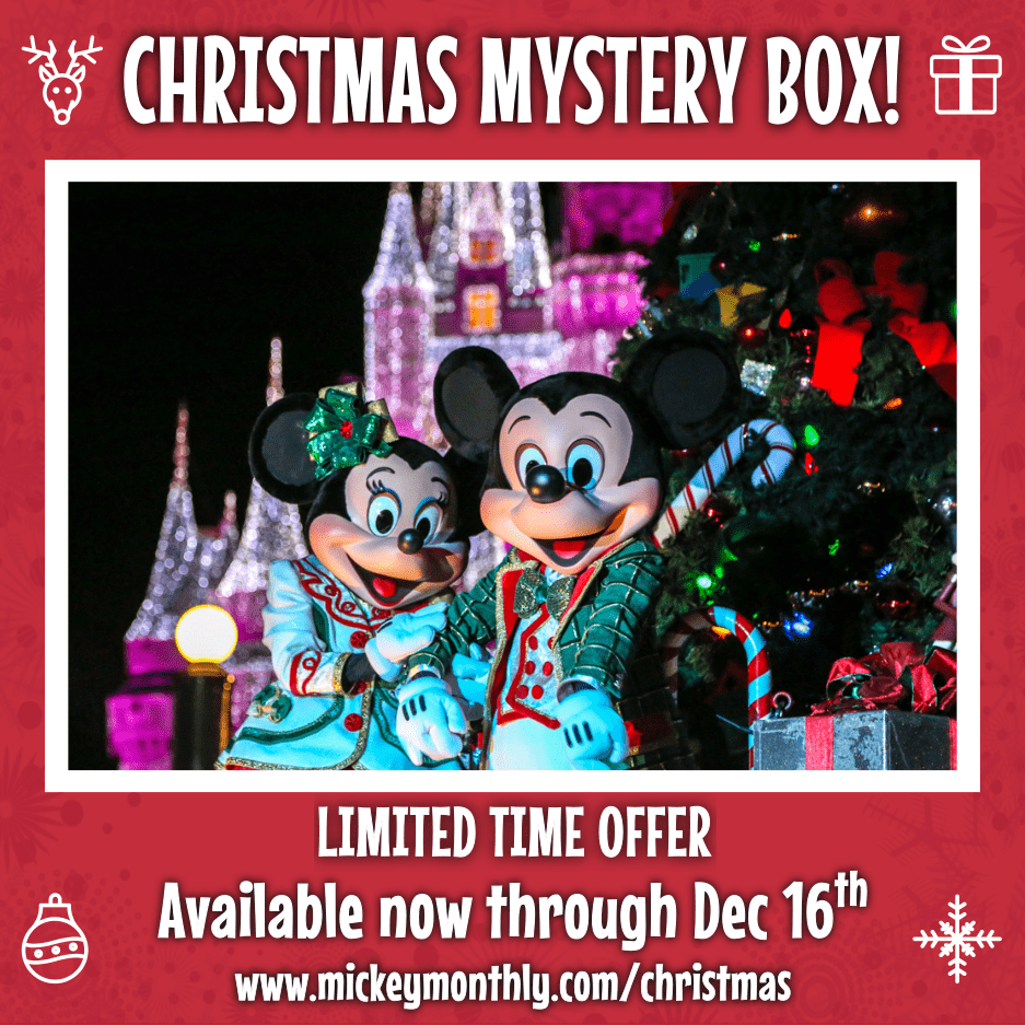 2019 Mickey Monthly Holiday and Christmas Mystery Boxes Available Now!
