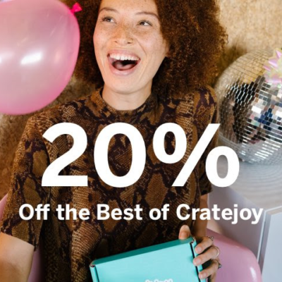 Cratejoy Flash Sale: Almost 50 Subscription Boxes 20% Off!