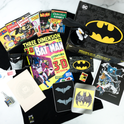 DC Comics World's Finest: The Collection Fall 2019 Box Review – BATMAN 80TH ANNIVERSARY