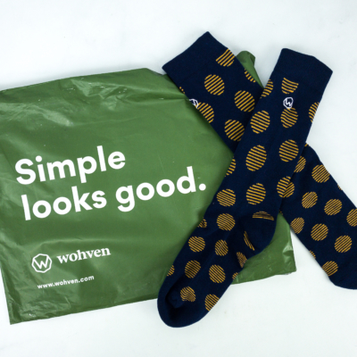 Wohven Socks Subscription October 2019 Review + Coupon!