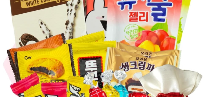 Korean Snack Box November 2019 FULL Spoilers + Coupon!