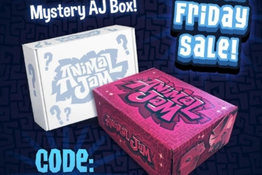 Animal Jam Box Cyber Monday Deal: Buy One and get a FREE Mystery Animal Jam Box!