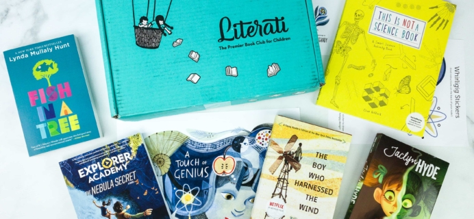 Literati Club Phoenix Box Review + Coupon – October 2019