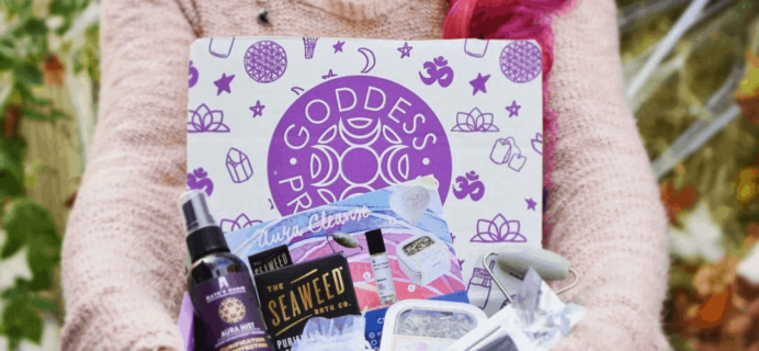 Goddess Provisions April 2020 Spoilers!
