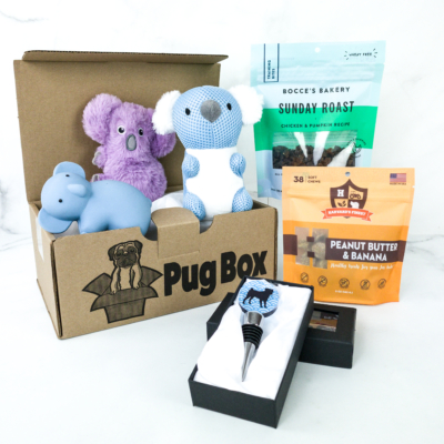 Pug Box October 2019 Subscription Box Review + Coupon!