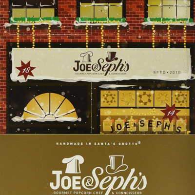 2019 Joe & Seph's Gourmet Popcorn Advent Calendar Available Now + Full Spoilers! {UK}