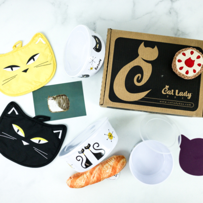 Cat Lady Box November 2019 Subscription Box Review