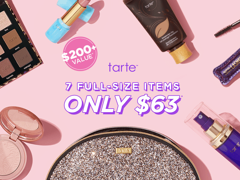 Tarte DIY Custom Beauty Box  – EXTENDED TODAY ONLY!