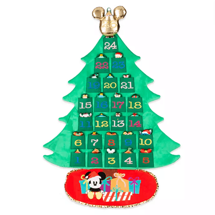 2019 Disney Plush Advent Calendar Available Now!