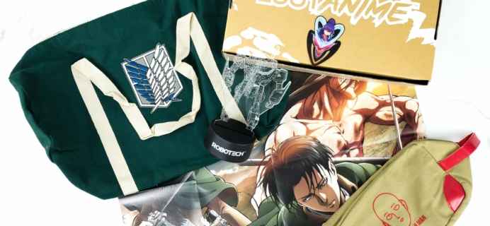 Loot Anime May 2019 Subscription Box Review & Coupons – TENACIOUS